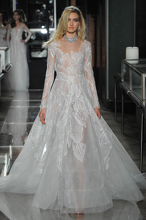 Look 20 Couture Wedding                                          dress by Reem Acra