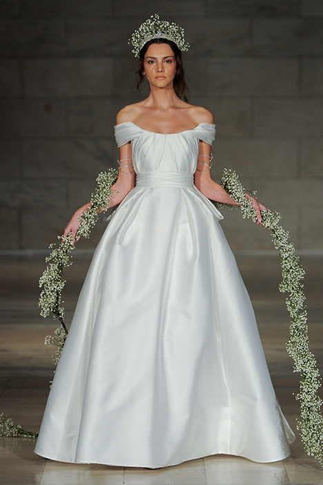 Look 2 Affection Wedding                                          dress by Reem Acra