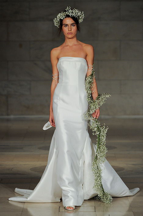 Look 3 Embrace Wedding                                          dress by Reem Acra