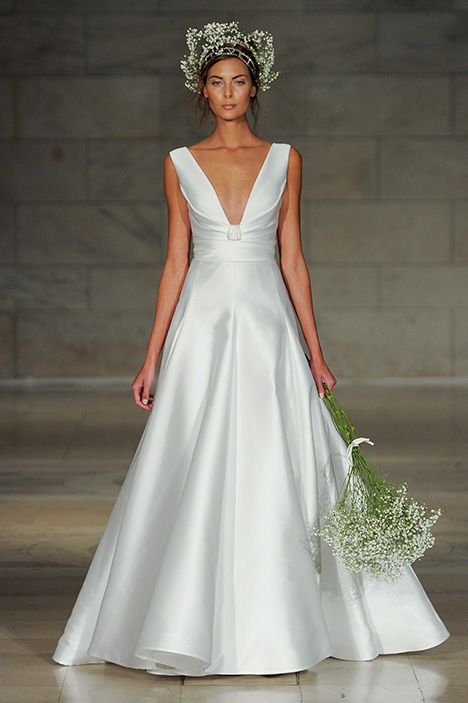Look 4 Endear Wedding                                          dress by Reem Acra