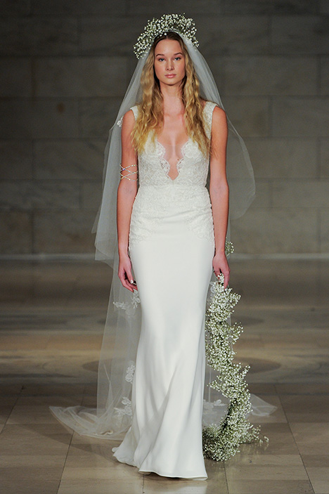 Look 6 Serenity Wedding                                          dress by Reem Acra