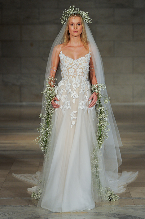 Look 7 Sincere Wedding                                          dress by Reem Acra