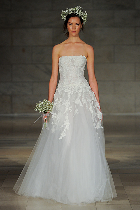 Look 8 Admire Wedding                                          dress by Reem Acra
