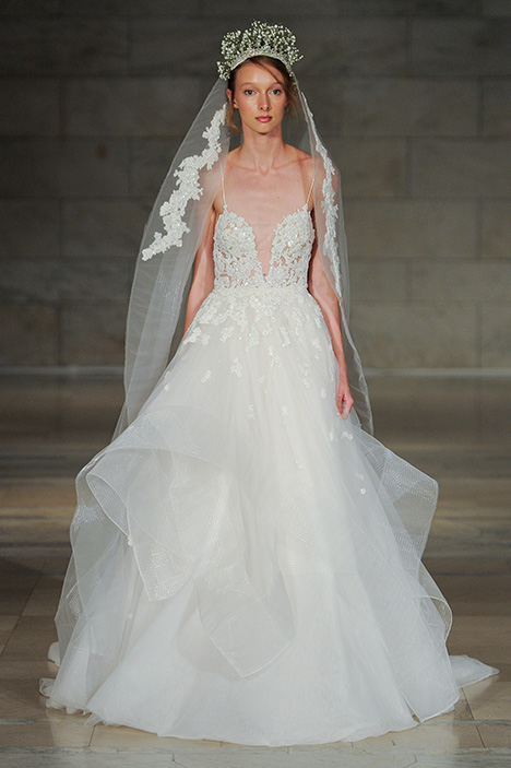 Look 9 Serendipity Wedding                                          dress by Reem Acra