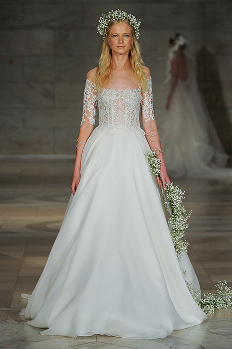 Look 10 Beauty Wedding                                          dress by Reem Acra