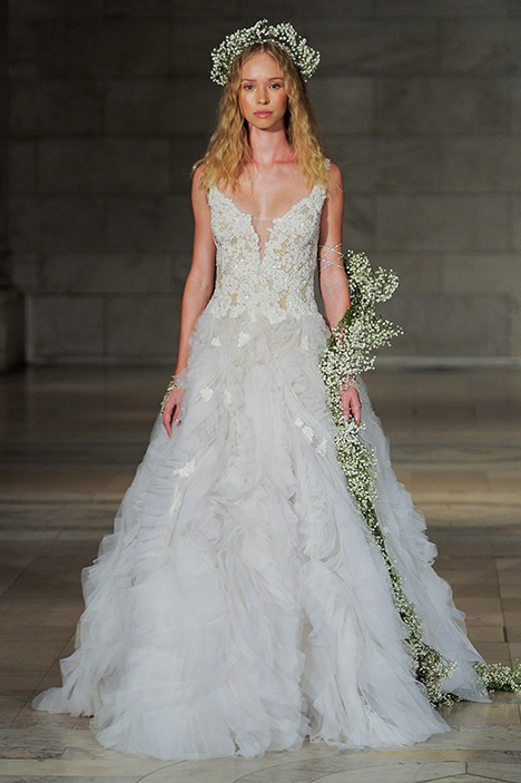 Look 11 Smitten Wedding                                          dress by Reem Acra
