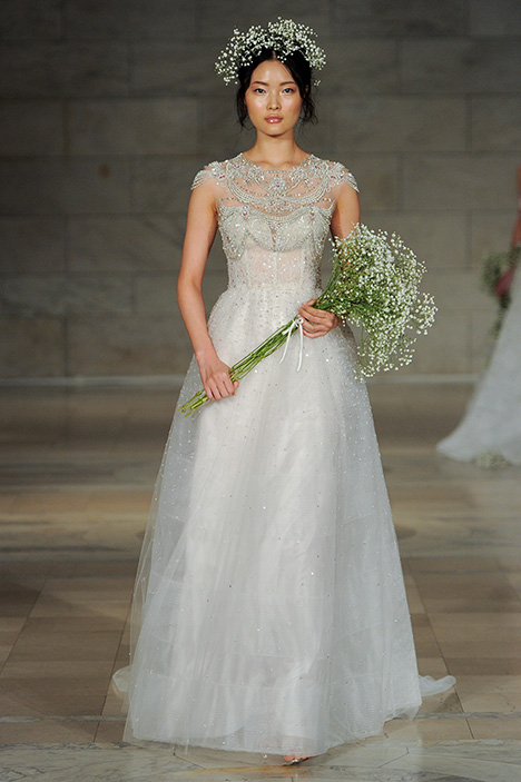 Look 16 Charisma Wedding                                          dress by Reem Acra