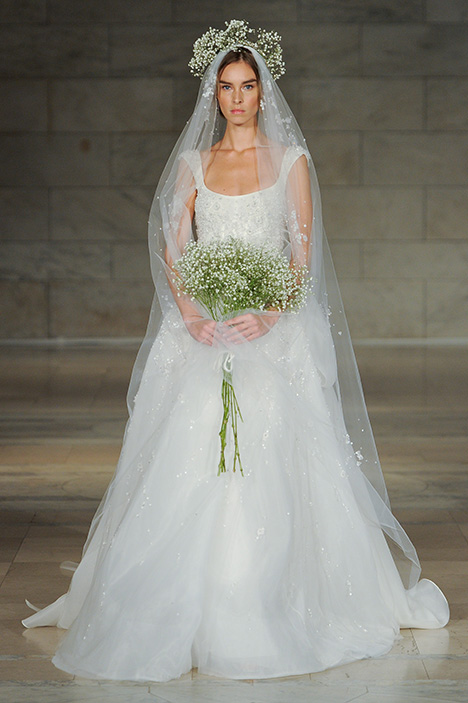 Look 17 Mesmerized Wedding                                          dress by Reem Acra