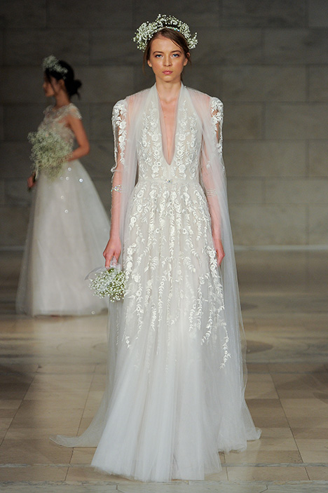 Look 18 Passion Wedding                                          dress by Reem Acra