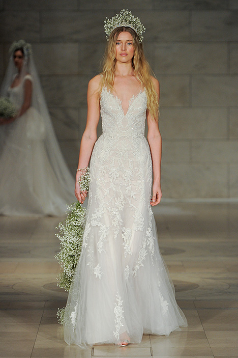 Look 19 Joyous Wedding                                          dress by Reem Acra