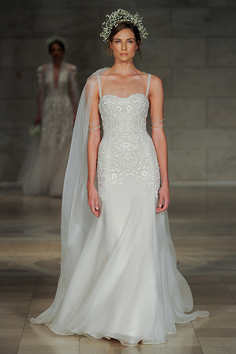 Look 20 Devotion Wedding                                          dress by Reem Acra