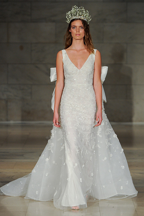 Look 22 Gracious Wedding                                          dress by Reem Acra