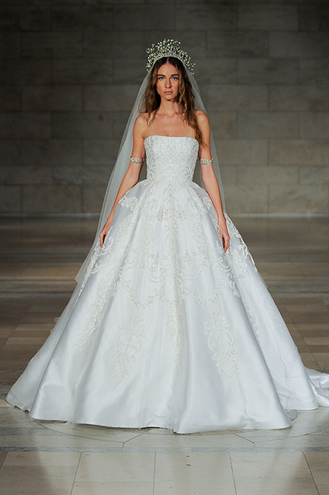 Look 24 Magical Wedding                                          dress by Reem Acra