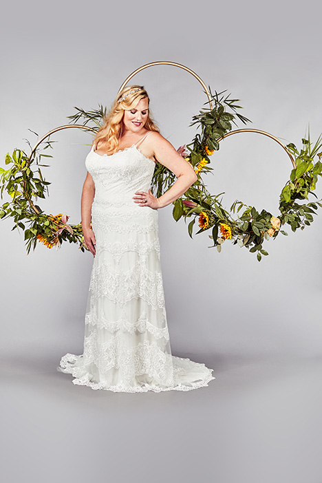 Glastonbury Wedding                                          dress by Callista