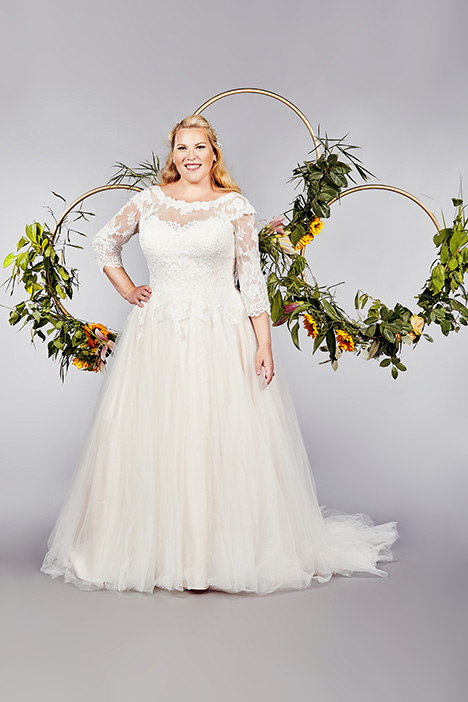 York Wedding                                          dress by Callista