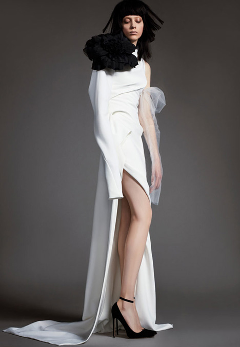 01 CLAUDE Wedding                                          dress by Vera Wang