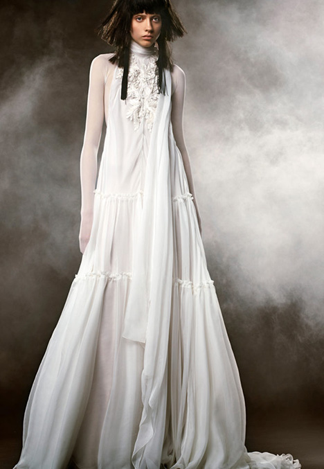 05 CLEMENCE Wedding                                          dress by Vera Wang