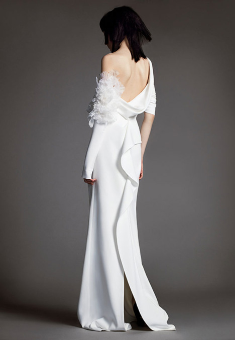 09 CLEMENTINE Wedding                                          dress by Vera Wang