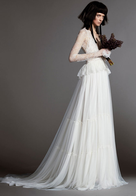 12 MADELEINE Wedding                                          dress by Vera Wang