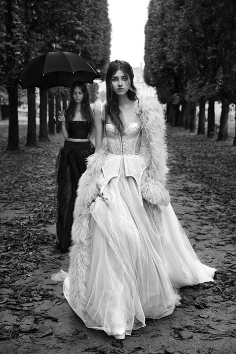 Francoise Wedding                                          dress by Vera Wang