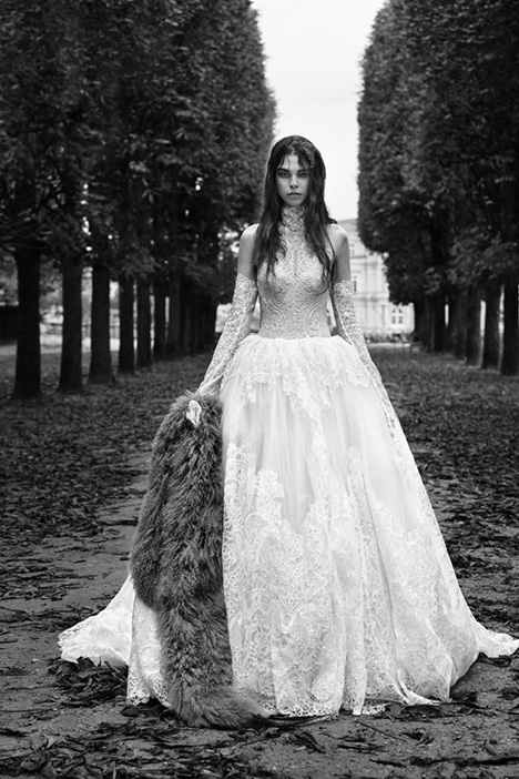 Maude Wedding                                          dress by Vera Wang