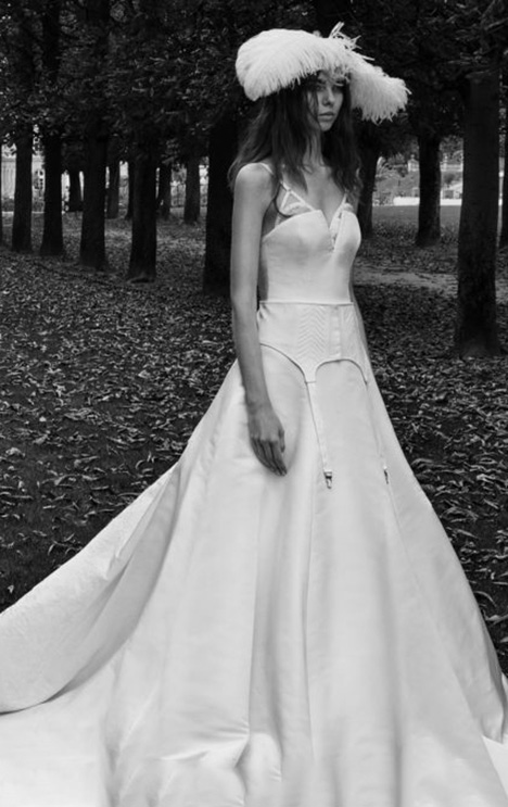 Natalia Wedding                                          dress by Vera Wang