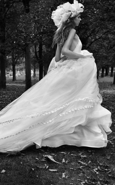 Solange Wedding                                          dress by Vera Wang