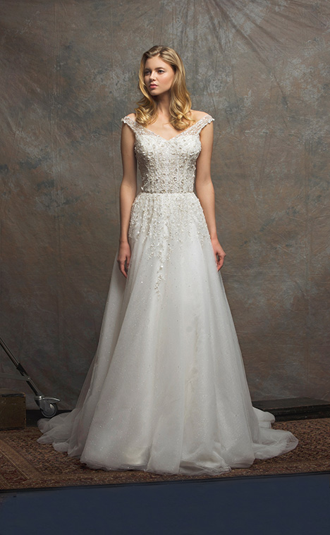 ES751 AURORA Wedding                                          dress by Enaura Bridal