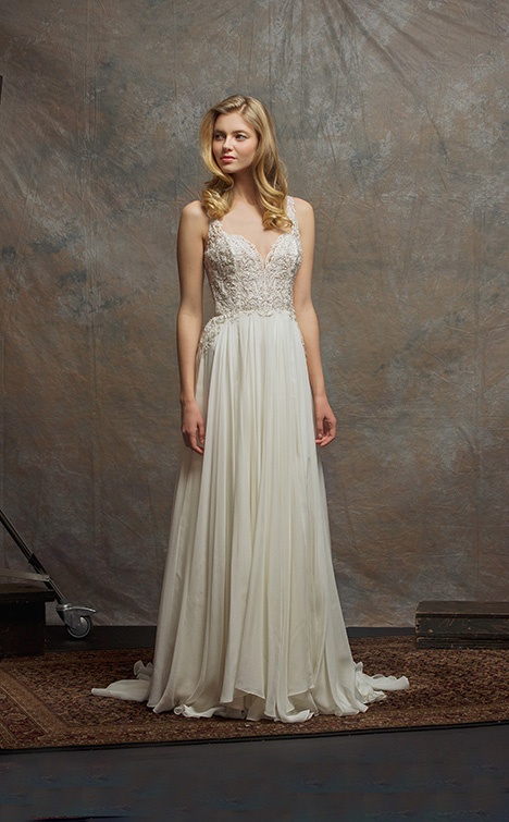 ES757 TIFFANY Wedding                                          dress by Enaura Bridal