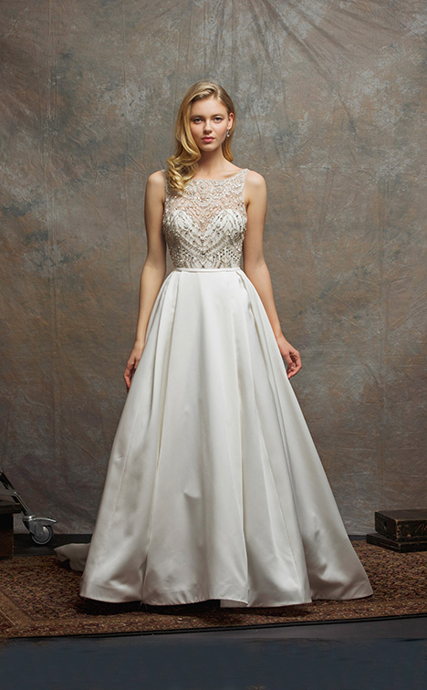 ES758 CRYSTAL Wedding                                          dress by Enaura Bridal