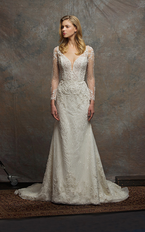 ES761 AMY Wedding                                          dress by Enaura Bridal