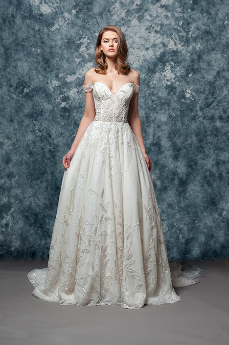 EF815 Petal Wedding                                          dress by Enaura Bridal