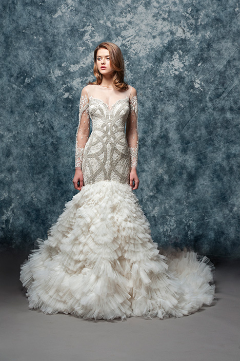 EF819 Zahra Wedding                                          dress by Enaura Bridal