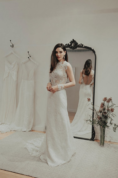 Throne Wedding                                          dress by Brides by Sarah Seven