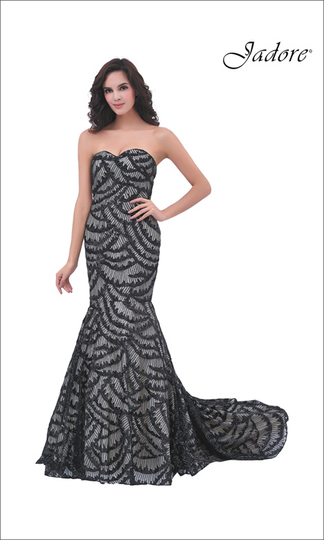 J11301 Prom                                             dress by Jadore Evening