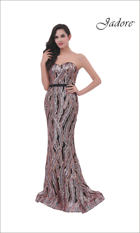 J11365 Prom                                             dress by Jadore Evening