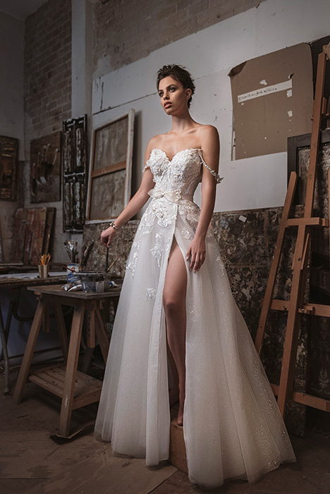 LA20-03 Sandra Wedding                                          dress by Lavish by Persy