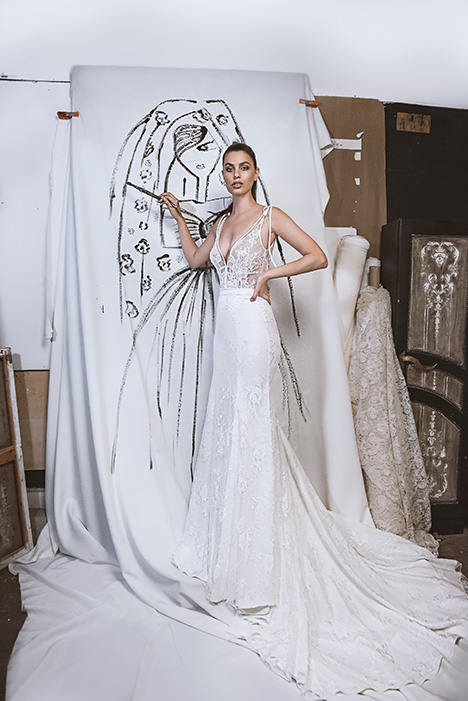 LA20-10 Taylor Wedding                                          dress by Lavish by Persy
