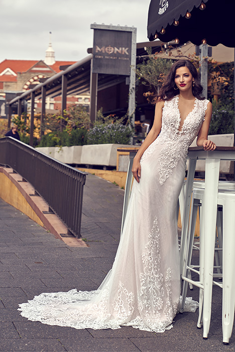 ZB 208B Wedding                                          dress by Zavana Bridal