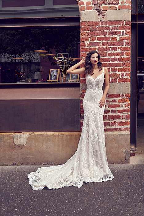 ZB 245 Wedding                                          dress by Zavana Bridal