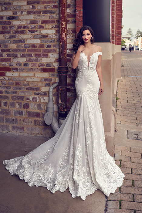 ZB 249 Wedding                                          dress by Zavana Bridal