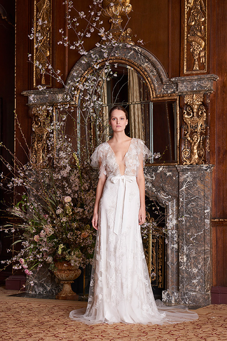 Amie Wedding                                          dress by Monique Lhuillier