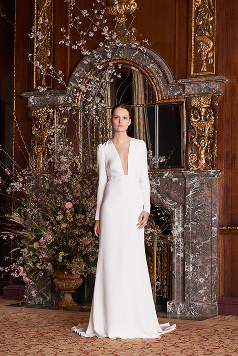 Caroline Wedding                                          dress by Monique Lhuillier
