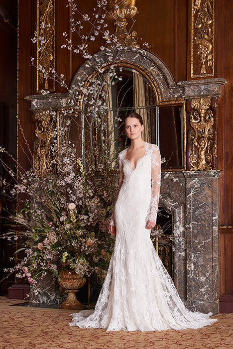 Haven Wedding                                          dress by Monique Lhuillier