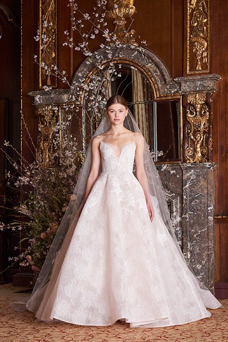 Helena Wedding                                          dress by Monique Lhuillier