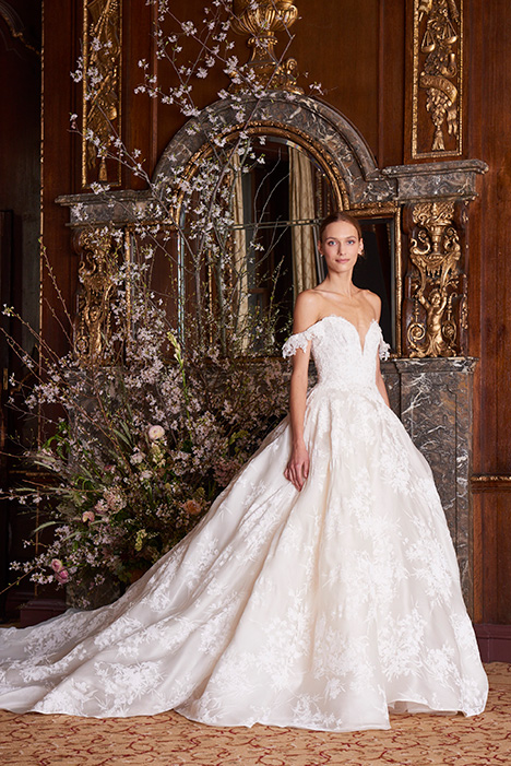 Josephine Wedding                                          dress by Monique Lhuillier