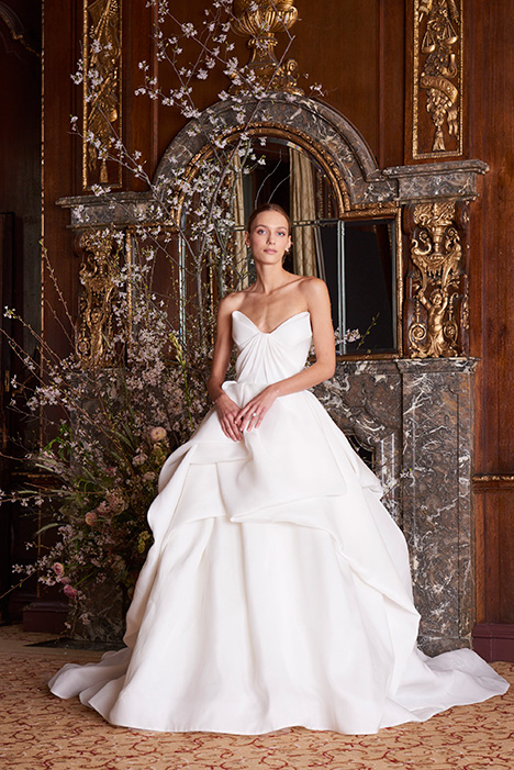 Luna Wedding                                          dress by Monique Lhuillier