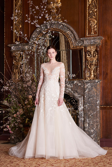 Margaret Wedding                                          dress by Monique Lhuillier