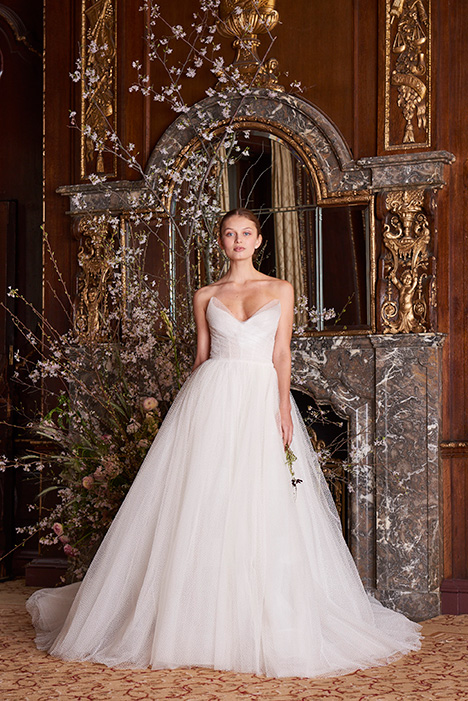 Olympia Wedding                                          dress by Monique Lhuillier
