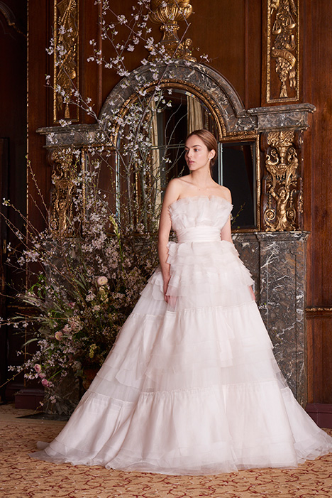 Parfait Wedding                                          dress by Monique Lhuillier